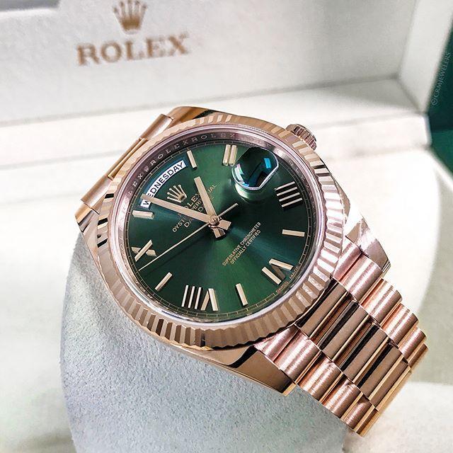 Rolex Day Date Anniversary.