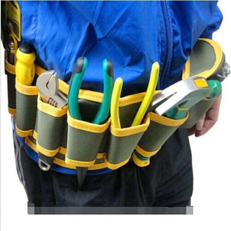 Bolsa New Arrival Summer Style Oxford Tool Bag Electrician Fashion Multi-Pocket Tool Belt Bags 54*13cm Electrician Tool