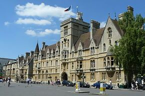 Oxford University - Balliol College - founded 1263