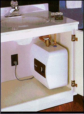 Under Cabinet Hot Water Heater Electric