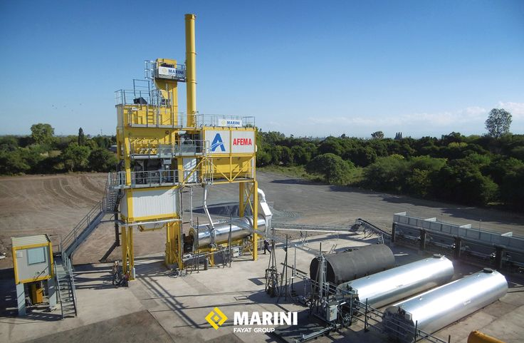 The latest arrival in the BE TOWER family: The 120 t/h BT 1500. #betower #marini #fayatgroup #asphalt #asphaltplant #engineering #roadconstruction