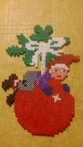 Christmas ornament hama mini beads