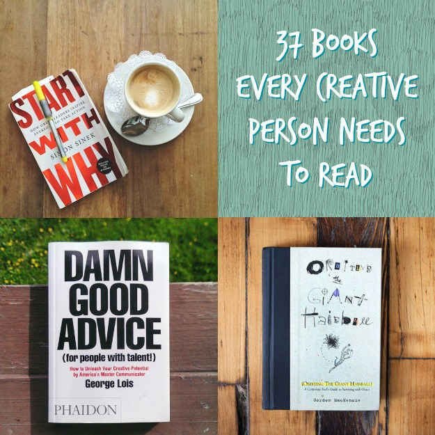37 Books Every Creative Person Should Be Reading @kirstenb guess which one is number one?!