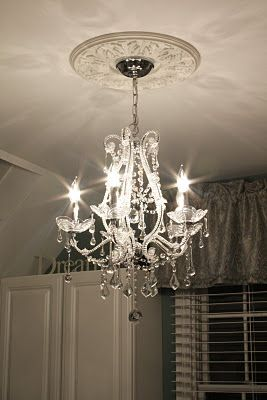 THIS is what I want for my ceiling fixture in my studio, gorgeous Chandelier!