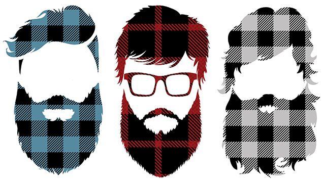 Barbas No Estilo Lumbersexual Estilo Lenhador Tendencia Lumbersexual Hipster