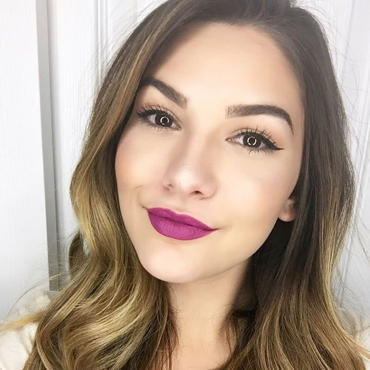 Melanie T looks absolutely stunning in this night out number using her gifted AVON True Color Perfectly Matte Lipstick in Hot Plum. Recreate this look by clicking through. #AvonFreebie