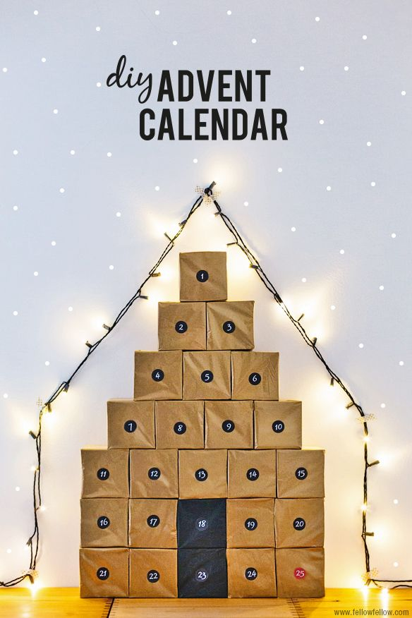 Advent Calendar DIY