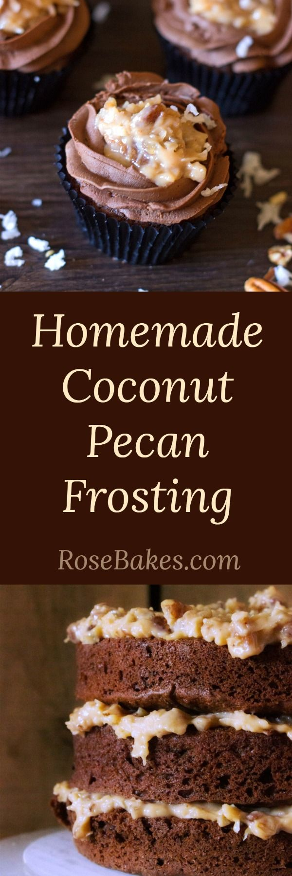 Homemade Coconut Pecan Frosting