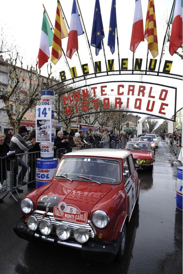 MINI WRC Hits Up Rallye Monte Carlo Alongside Classic Mini Rally Car, Gallery 2 - MotorAuthority