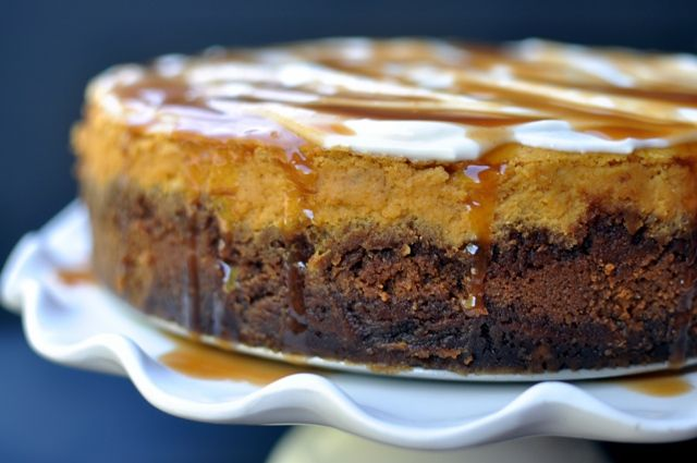 Pumpkin Cheesecake Salted Caramel