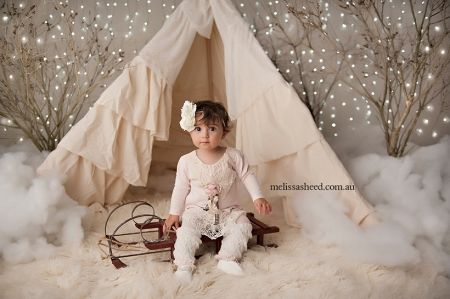 Christmas mini session – Allegra