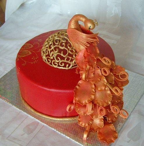 Торт с жарптицей фото