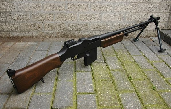 Photo wallpaper weapons, Browning M1918, automatic, rifle