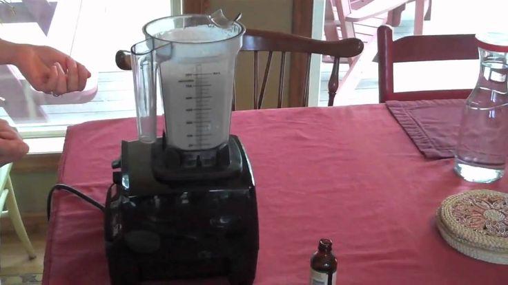 Raw Almond Milk in the Vitamix (no straining) Best recipe ...