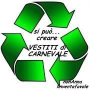 linventafavole: raccolta link VESTITI di CARNEVALE con il riciclo
