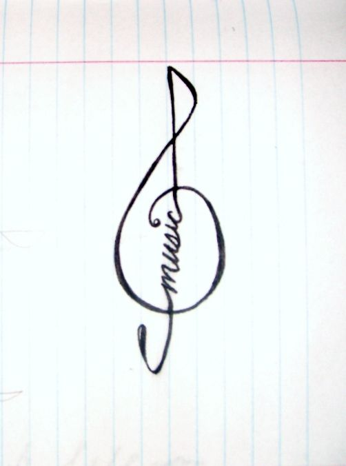 Music <3  I would like this in tattoo form:-)