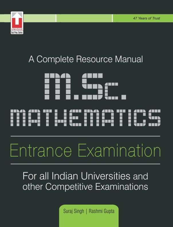 Avail huge discount on our best selling book for MSC Entracne Exam.. Compare the price here:    #mscentrance #unique