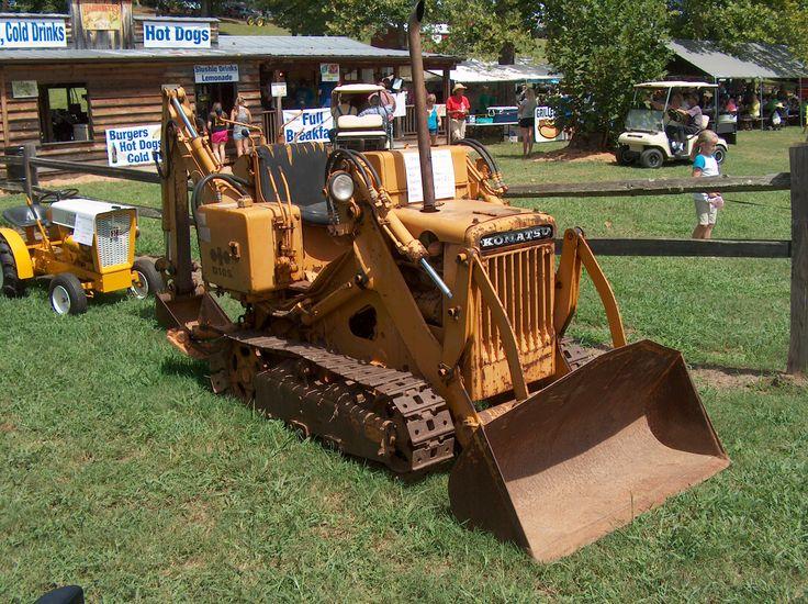 Antique Tractors Equipment : Best vintage crawlers dozers images on pinterest