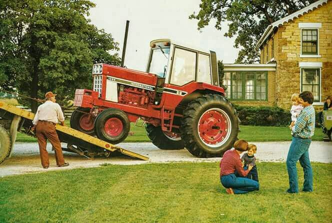 1086 Ih Plowing : Best ih tractor images on pinterest