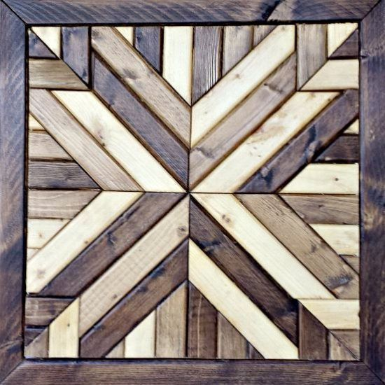 how to make wood square