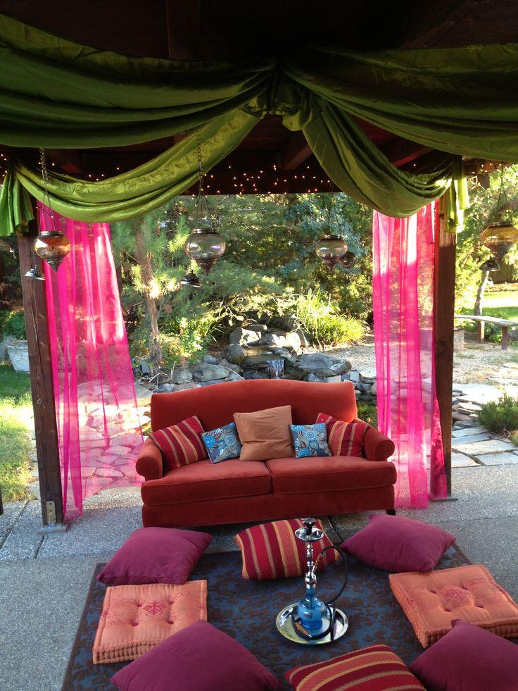 Bollywood party decor