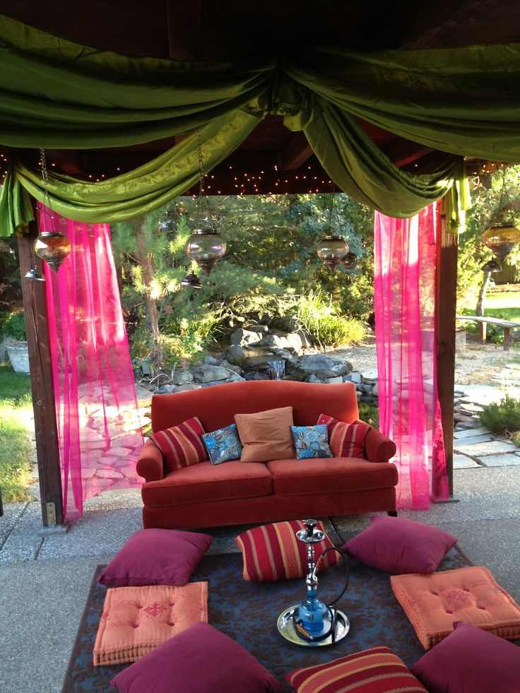 Bollywood party decor