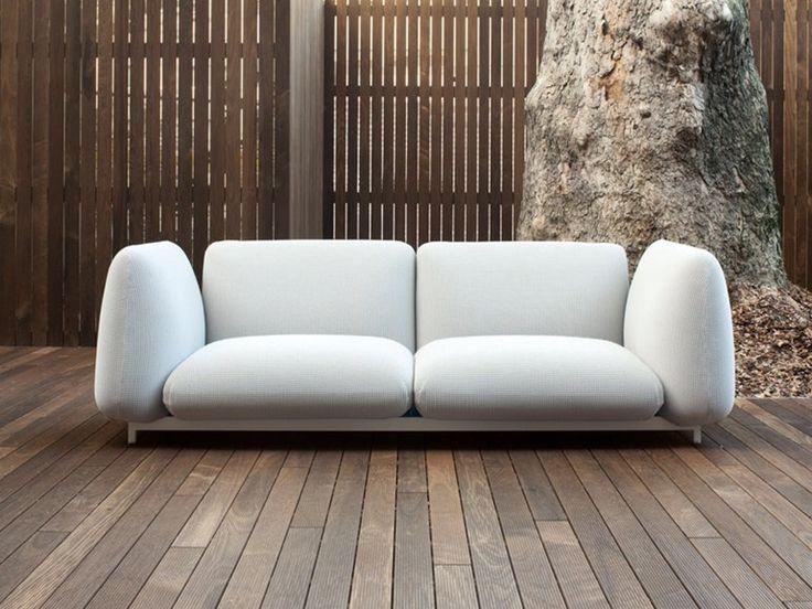 Sofá composable tapizado 2 plazas MELLOW   Sofá 2 plazas - Paola Lenti