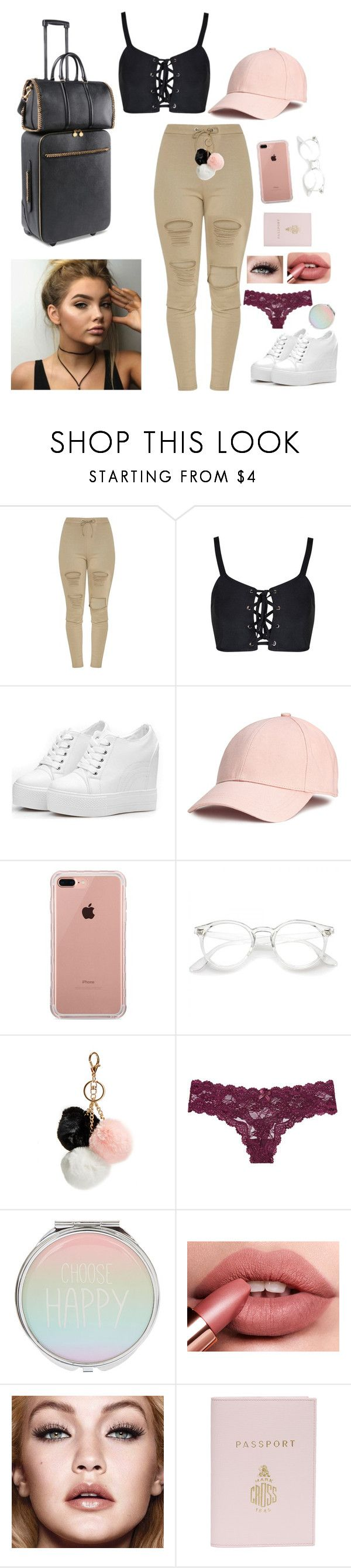 """We ain't got forever and ever"" by thelovelye ❤ liked on Polyvore featuring Belkin, GUESS, Victoria's Secret, Mark Cross and STELLA McCARTNEY"