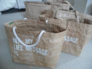 米袋バッグ「お袋さん」の作り方(皆さん編) - りんごと太陽 日々の暮らし