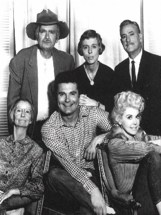 """The Beverly Hillbillies"" 1960s. starring Buddy Ebsen, Irene Ryan, Max Baer, Donna Douglas, Nancy Kulp."