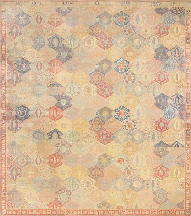 Antique Oversized Israeli Bezalel Carpet 48245 Thumbnail - By Nazmiyal