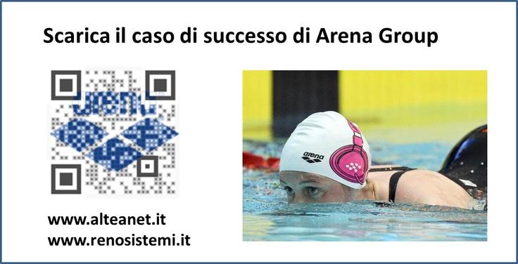 Oggi a SMAU Business Roma, Arena Group ha vinto il Premio Innovazione ICT per il progetto di implementazione di un unico sistema gestionale in tutte le company. Scarica il caso di successo o visita il sito WWW.ALTEANET.IT per accedere agli atti del workshop di presentazione.