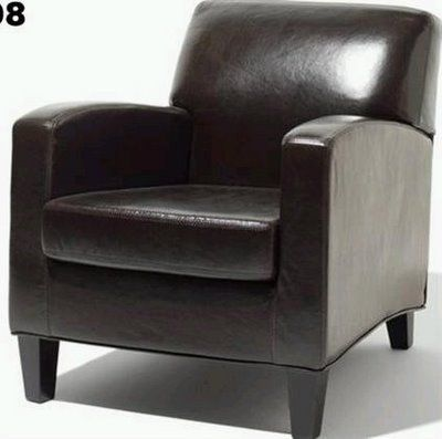 Jappling Leather Club Chair