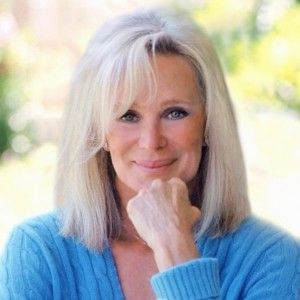 "Linda Evans, actress and author of ""Recipes for LIfe"""