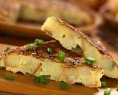 Omelette à l'espagnole ou tortilla de patatas