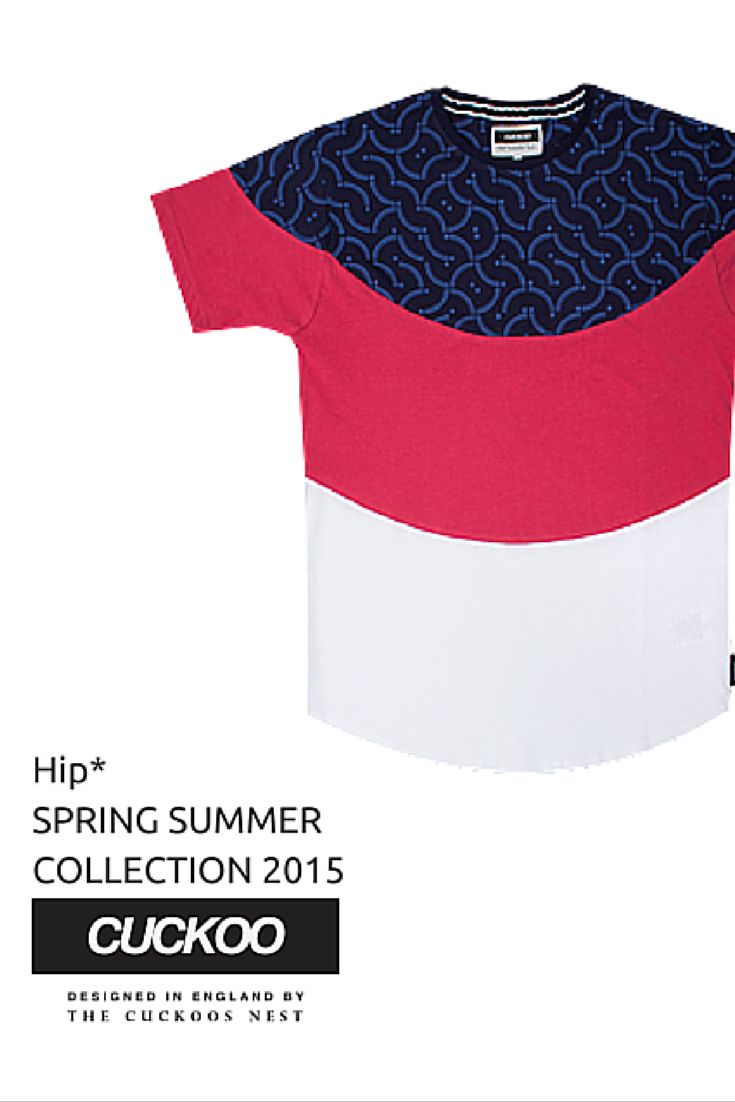 Men's T-Shirts - Deco Bib Tee Multicoloured #Hip #Hipyourtshirts #Hipyourstyle #Tshirts #Sweatshirts #Thecuckoosnest #Cuckoo #Cuckoos #SS_15 #New #Collection #Spring #Summer #Mens #Fashion #Style #Art