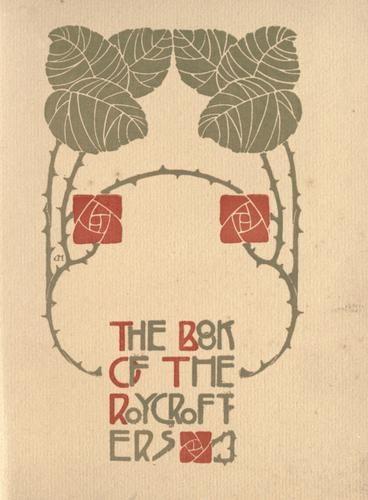 Roycroft Press book cover: Dard Hunters, Books Covers, Art Crafts, Books Art, New Art Deco, Beautiful Books, Art Nouveau Art, Press Books, Hunters Bookart