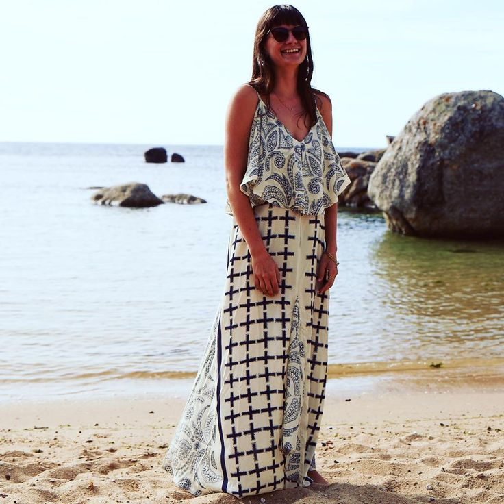 #Hippie #Style #Beach #Party #Outfit With #Sunglasses