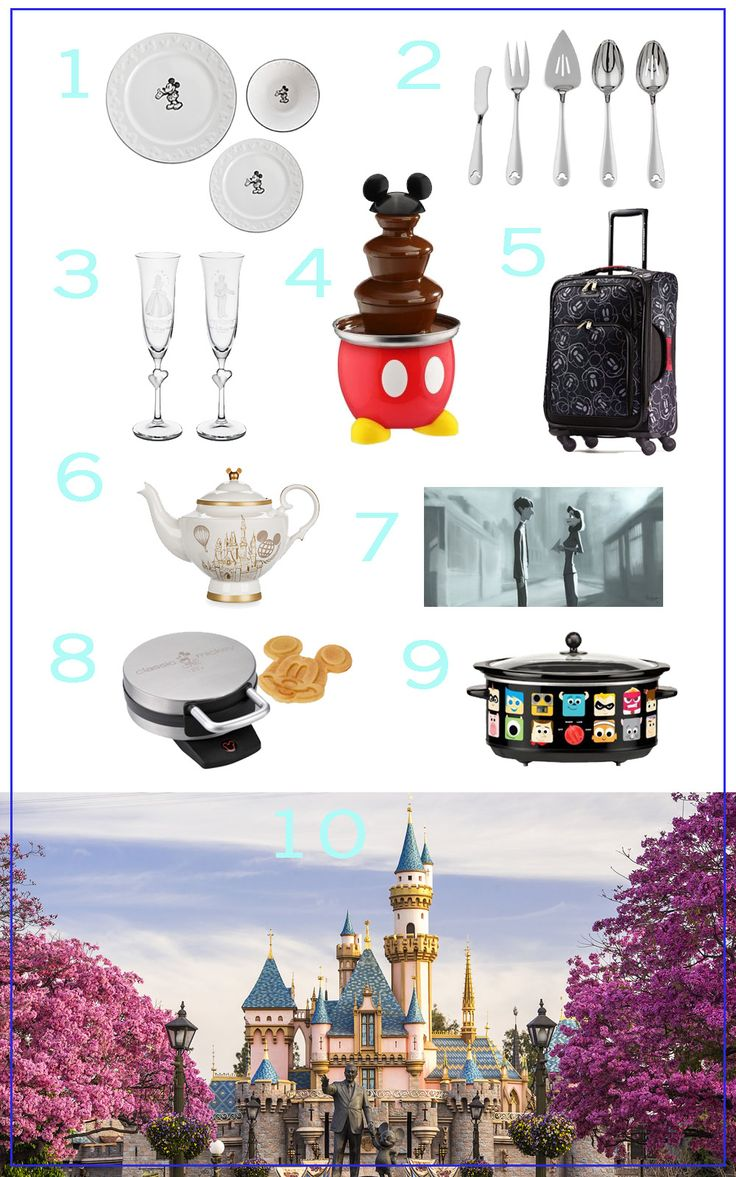 10 Disney Things For Your Wedding Registry | Disney housewares + home goods + kitchen appliances | [ http://di.sn/6000B43h8 ]