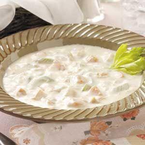 Chowder Recipes | Creamy Clam Chowder Recipe | Taste of Home Recipes