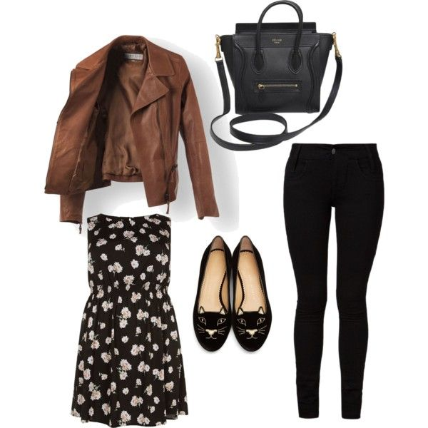Sans titre #15 by muslimco on Polyvore featuring polyvore, mode, style, Barbara I Gongini, Charlotte Olympia and CÉLINE