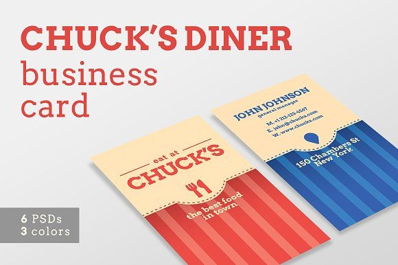 Local Diner Business Card Templates Business Cards Creative Templates Business Card Template Design Business Cards Creative