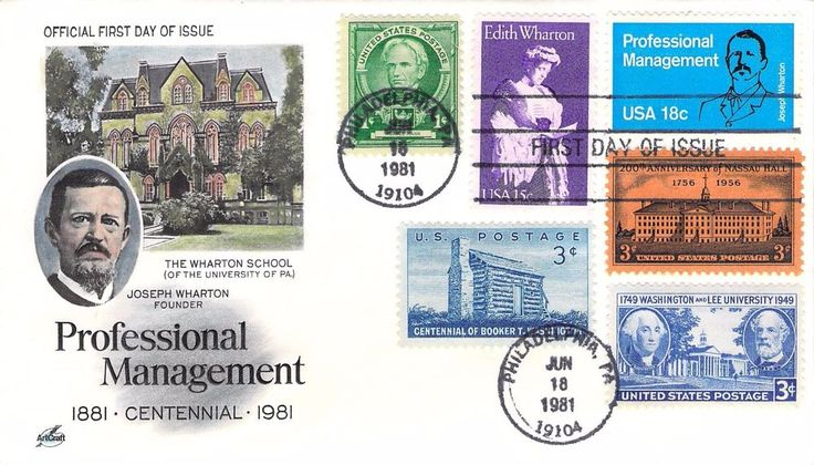 1981 Professional Management Hand Colored Art Craft COMBO First Day Cover