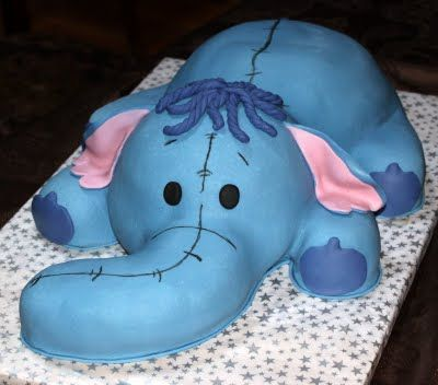 Amazing Grace Cakes: Heffalump Instructions