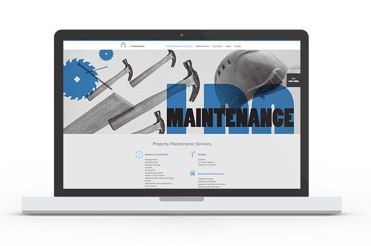 Fully responsive website for i do maintenance