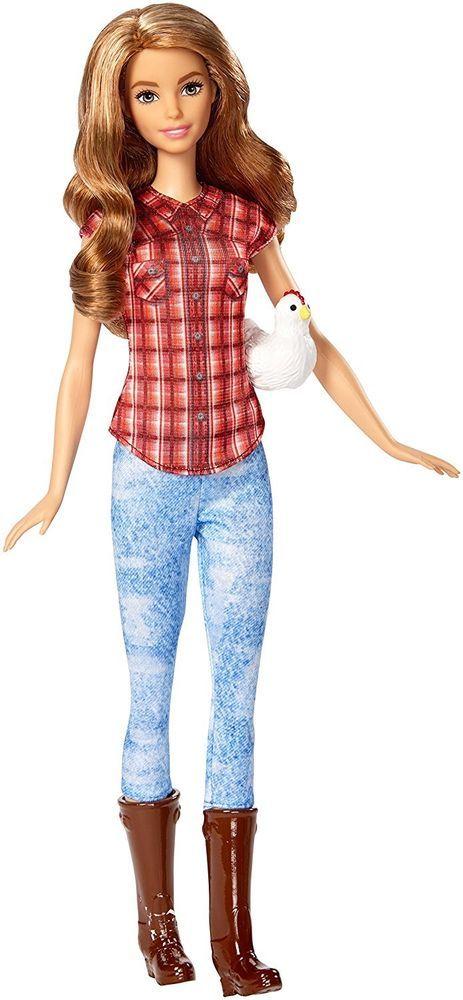 NEW! 2016 Barbie Careers Farmer Girl Teresa Doll ~ NIB #Mattel