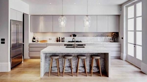 Kreative Kuchenideen Grunwald In 2020 Moderne Weisse Kuchen Kuchendesign Modern Luxus Kuche Design