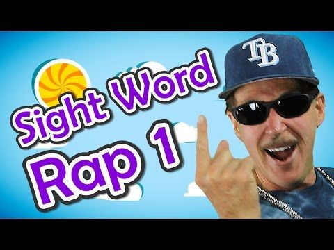 Sight Word Rap 1 | Sight Words | High Frequency Words | Jump Out Words | Jack Hartmann - YouTube