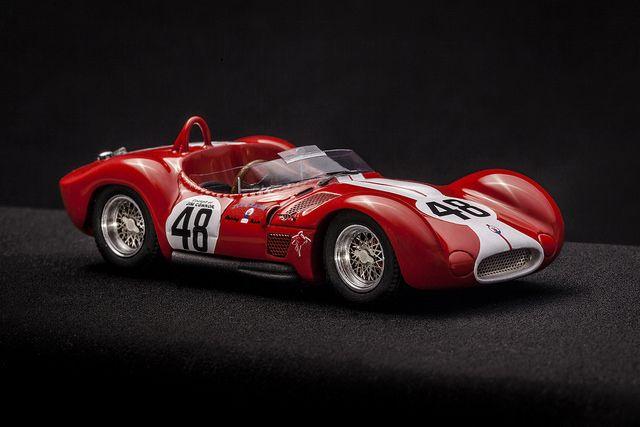 Jim Connor #48 I Maserati Birdcage châssis #2452 - Maserati