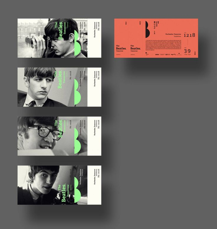 33 best images about K on Pinterest De stijl, Tissue paper and - concert ticket design